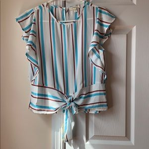 Monteau Short Sleeve Blouse